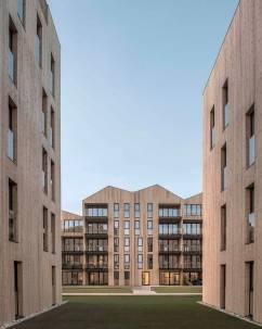 Mandal Slipway Housing Complex. Foto: Reiulf Ramstad Arkitekter