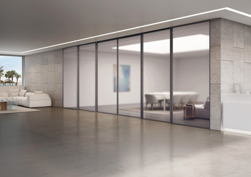 Superloft_Linvisibile_Marea Marechiaro Sliding Door