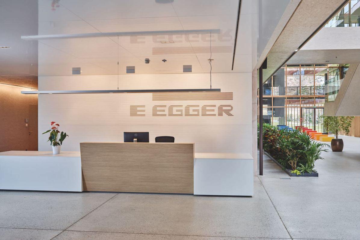 Oficinas centrales de Egger en Austria