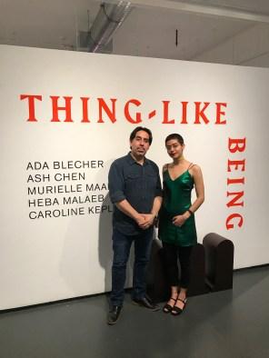 NYCxDESIGN - Diego y Heba de One art space