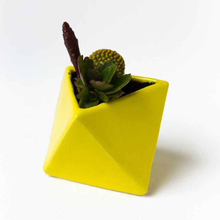 Octaedro amarillo - Presentes