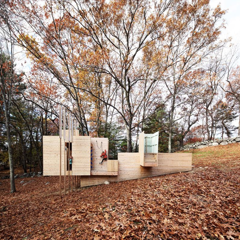 Five Fields Play Structure. Foto: FR|SCH projects + Matter Design