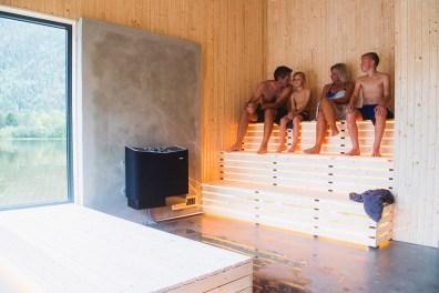 Sauna Soria Moria. Foto: Dag Jenssen