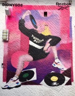 Mural Reebok Classic - Dionysos Rosario