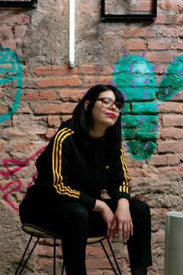Vero Corrales en adidas Originals Tucumán