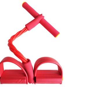Fitness apparaat met weerstandsbanden Rood