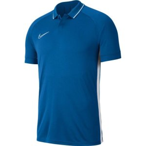 Nike Dry Academy 19 Polo Marineblauw