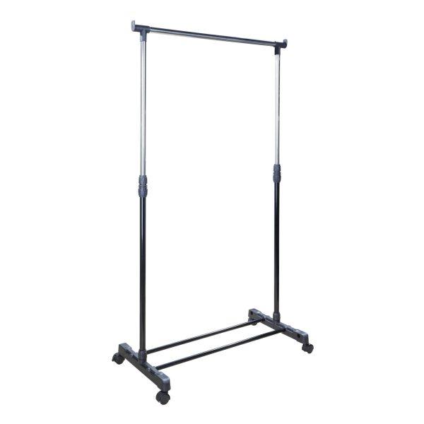 Kapstok/kledingrek verstelbaar 100 tot 170 cm