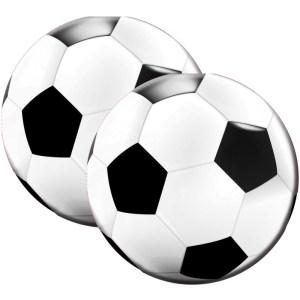 voetbal servetten, 20 stuks