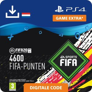 FIFA 20: Ultimate Team (FUT) - 4.600 Points - PS4 download - Niet beschikbaar in BE