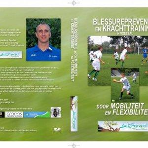 DVD Blessure preventie en krachttraining - Voetbaltrainer - Veel oefeningen voor blessure preventie