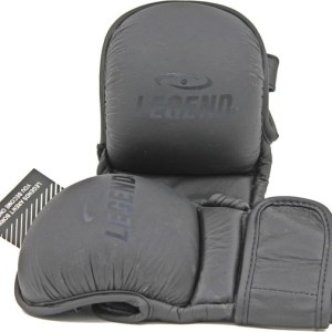 Legend Sports MMA-handschoenen Legend Padding Stealth met duim mt S