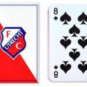 Fc utrecht Speelkaarten diagonaal