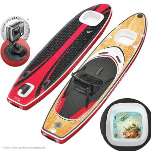 Sportstech WBX-9in1 SUP board set-stand up paddle board-action cam