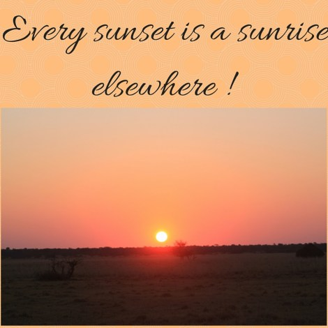 sunset quote