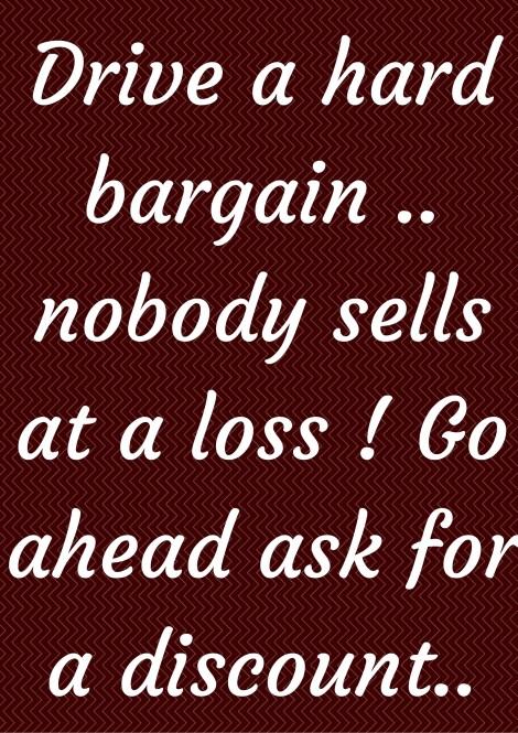 bargain quote