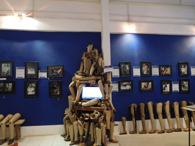 A small tree of used prosthetics :(
