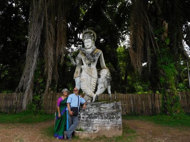 Bindu and Krishnan and of course Krishna :)