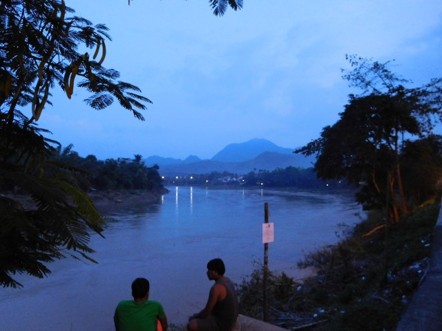 The beautiful Nam Khan river