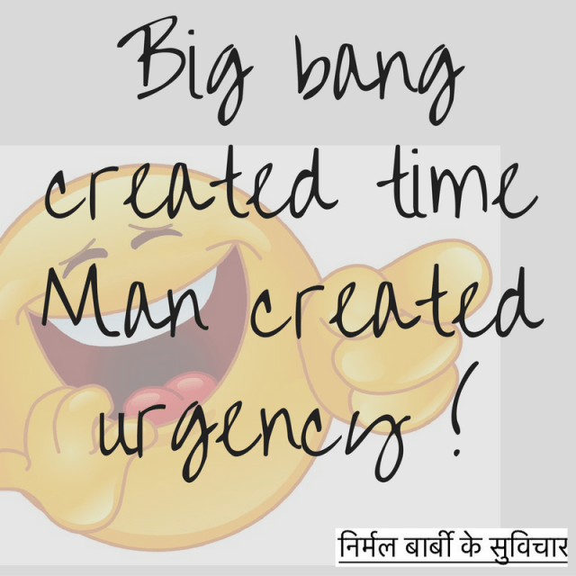 big-bang-created-timeman-created-urgency