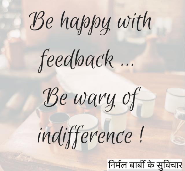 feedback-indifference