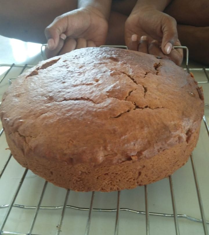 Banana Wheat Cake