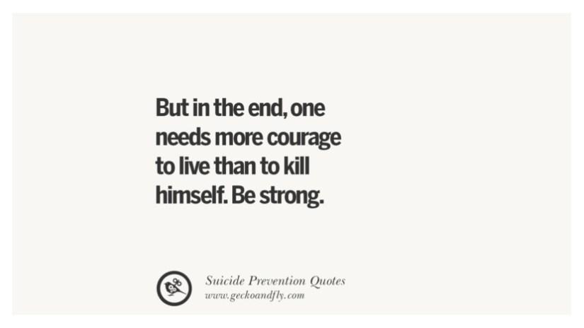 Prevent Suicides