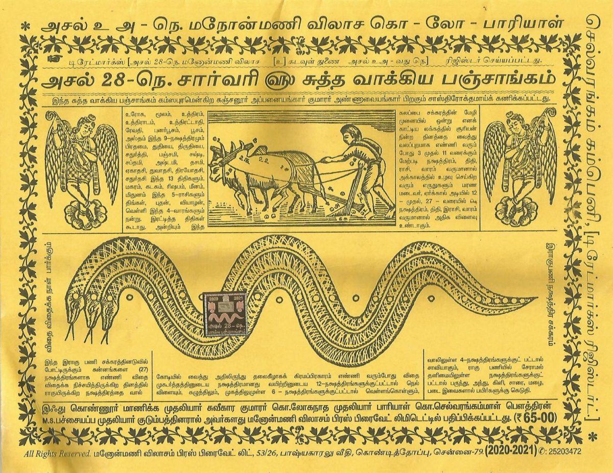 Aadi Amavasya - Tamil Calendar