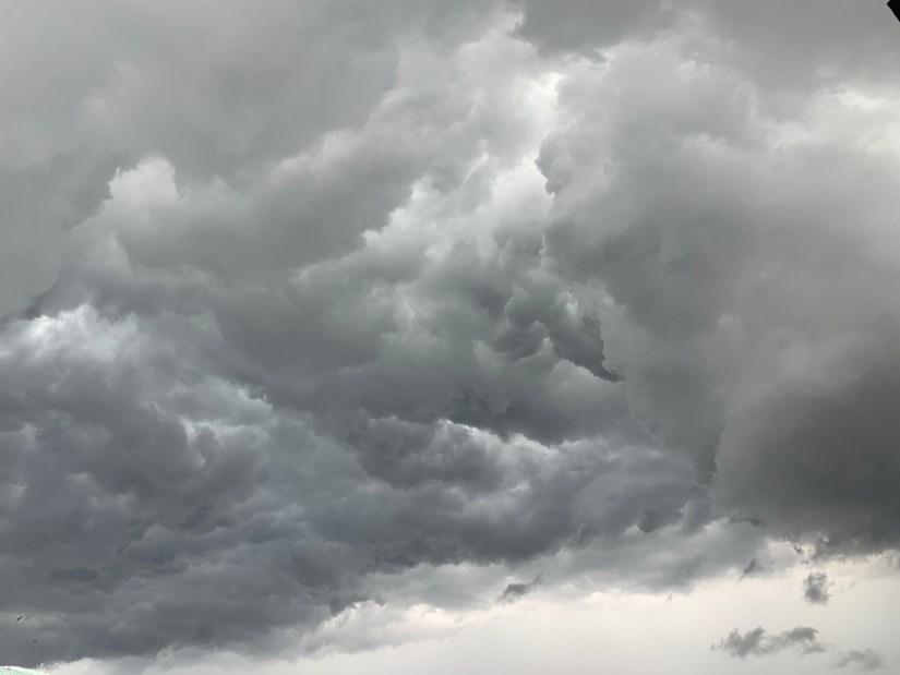 Aadi Amavasya - dark clouds