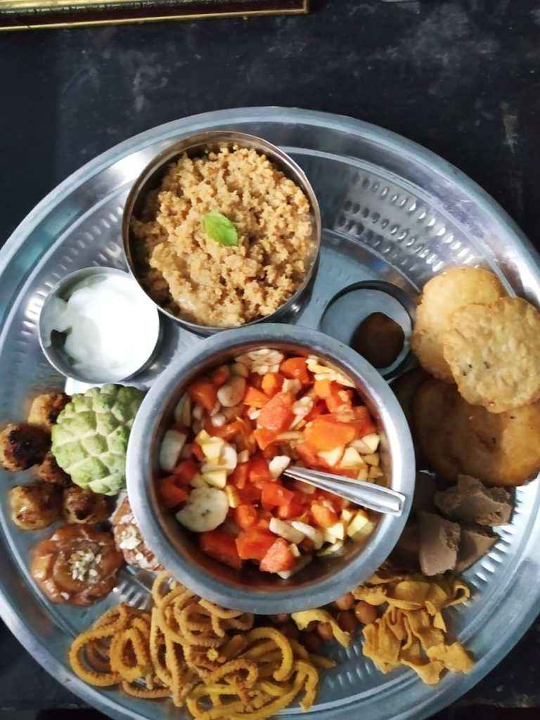 Sri Jayanthi platter