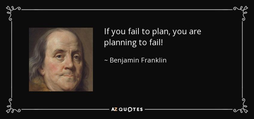 Quit plan