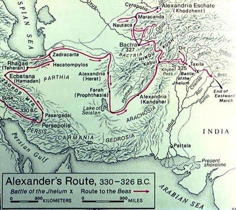 Alexander map