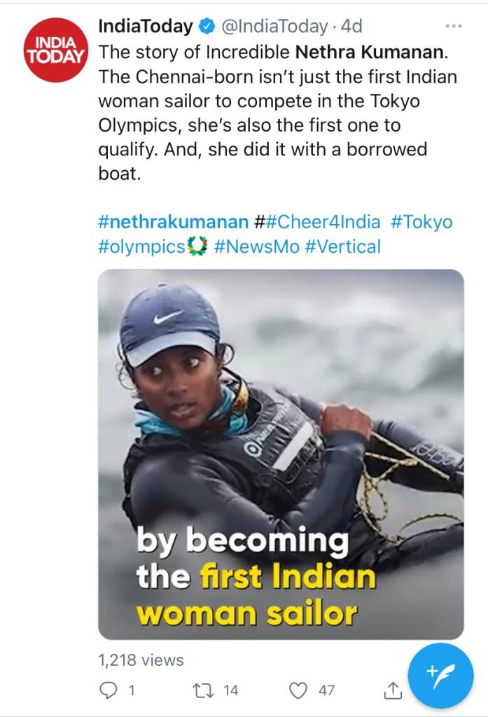 Nethra Kumanan - Olympics