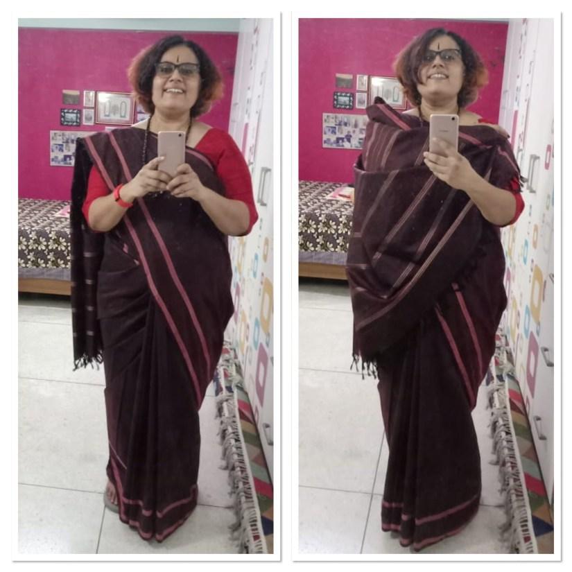 Handloom - Tencel Saree Gopinath
