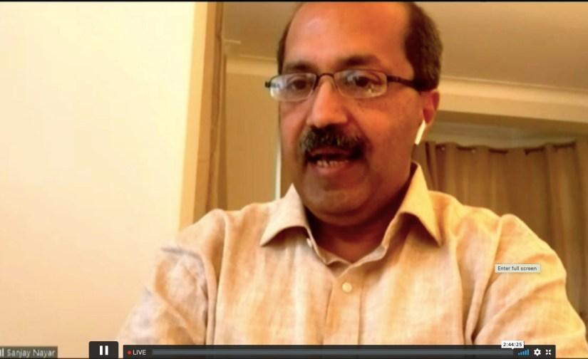 Ambidextrous Sanjay Nayar