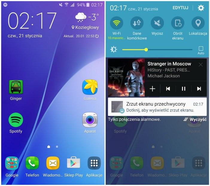 Samsung Galaxy A3 2016- TouchWiz - 90sekund.pl