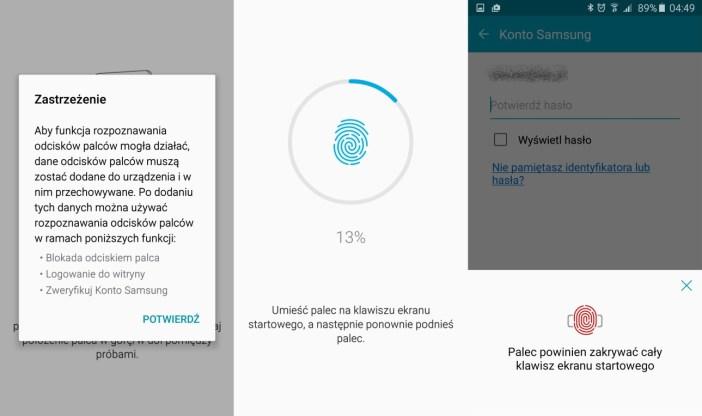 Samsung Galaxy A5 2016 - czytnik linii papilarnych działa rewelacyjnie! - 90sekund.pl