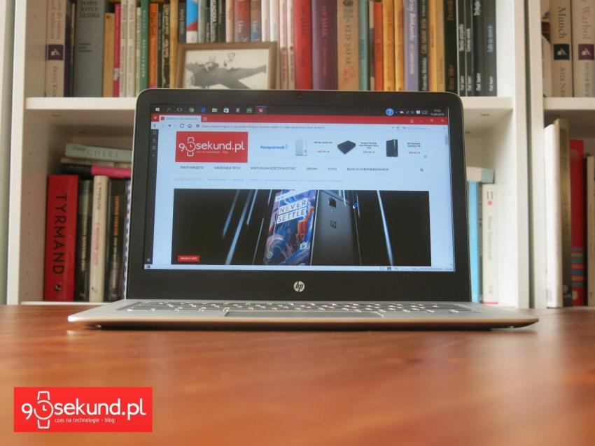 HP Envy 13 (d011nw) - recenzja 90sekund.pl