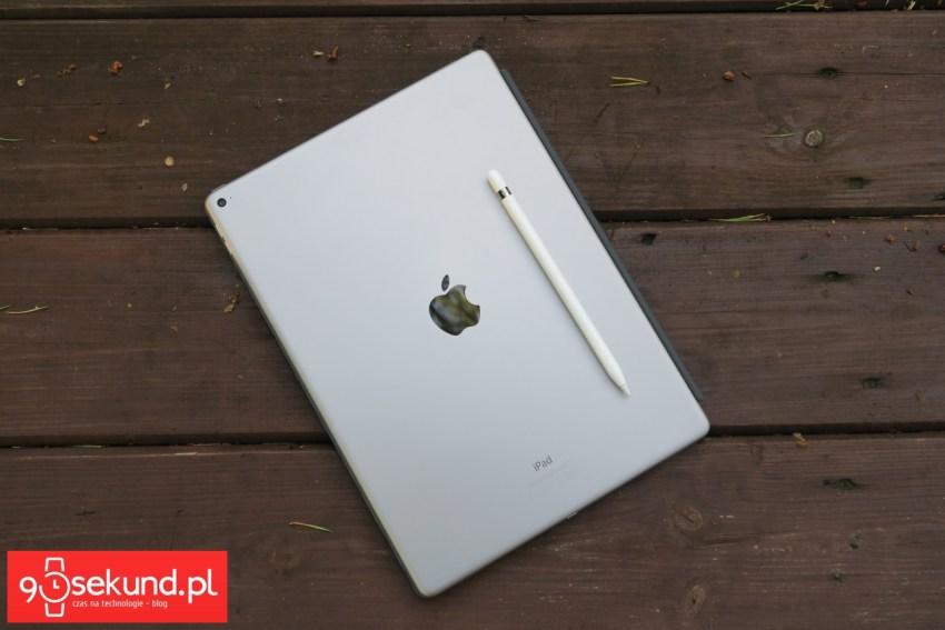 Apple iPad Pro 12,9 (2015) i rysik Apple Pencil - recenzja 90sekund.pl