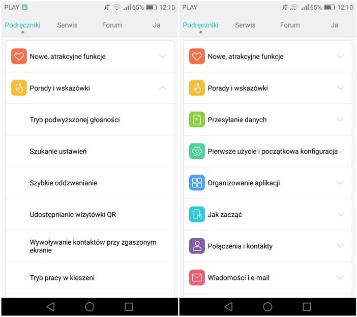 Huawei P9 Lite - EMUI 4.1 - recenzja 90sekund.pl