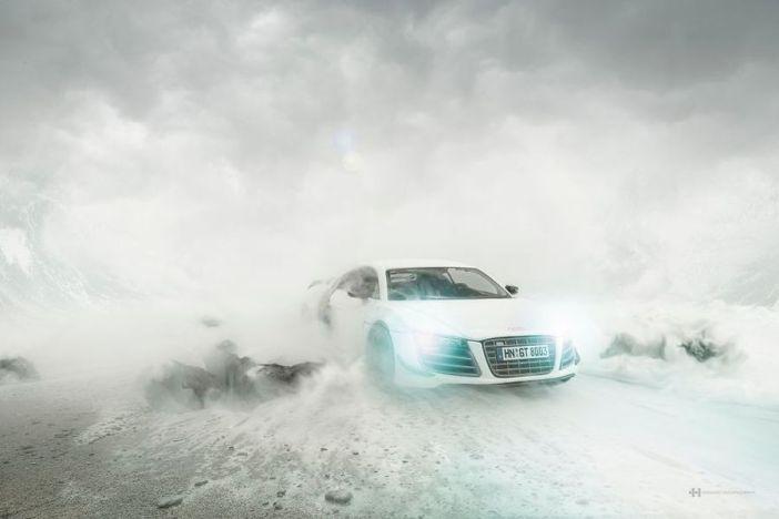 Audi R8 - fot. Felix Hernandez