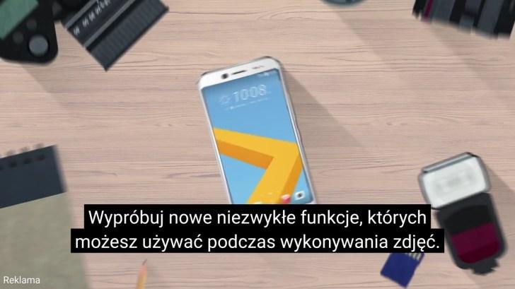 Opcja pomocy do zdjęć - HTC 10 evo - recenzja 90sekund.pl