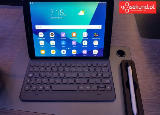 MWC2017: Samsung Galaxy Tab S3 – ładna ewolucja z klawiaturą i rysikiem na czele
