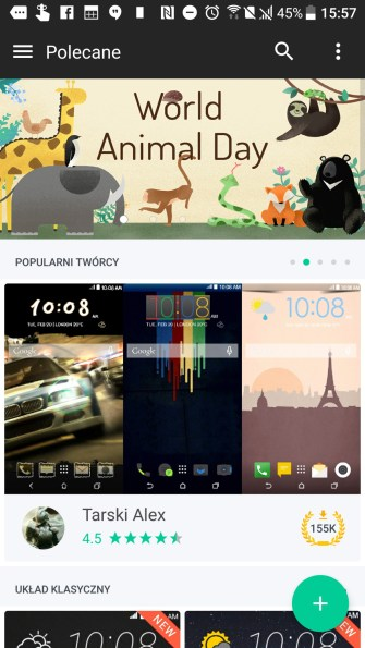 HTC U Ultra - wygląd systemu - 90sekund.pl