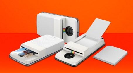 [AKTUALIZACJA] Czy to nie genialne? Właśnie wchodzi do sprzedaży moduł, który z Moto Z zrobi starego Polaroida!