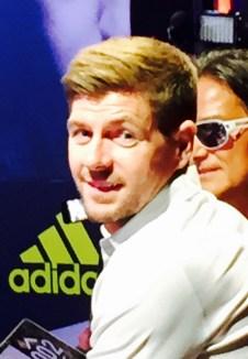 English superstar Steven Gerrard