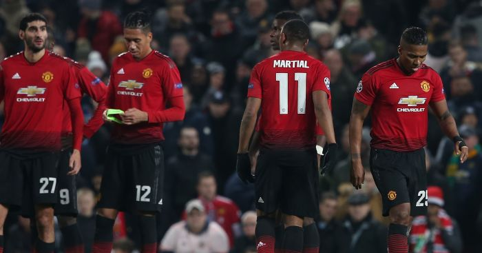Man United didn't take advantage of Juventus loss