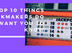 top 10 Things Bookmakers Do not Want You to Know