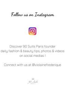 90 Suits Paris instagram