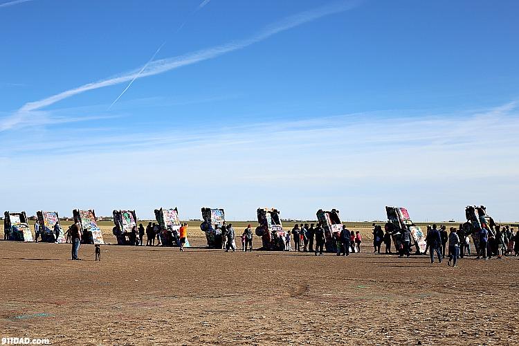 the ten cars at cadillac ranch